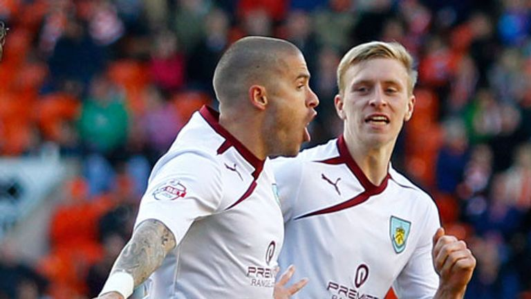 Michael Kightly's winner at Blackpool has put Burnley on the verge of promotion