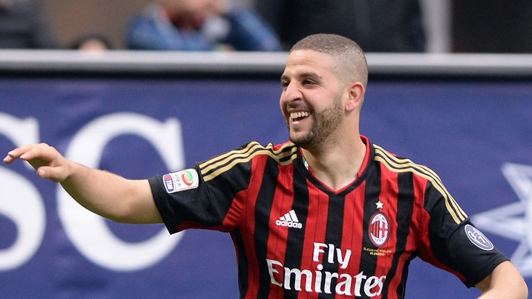 Adel Taarabt: Happy at AC Milan and hoping to stay