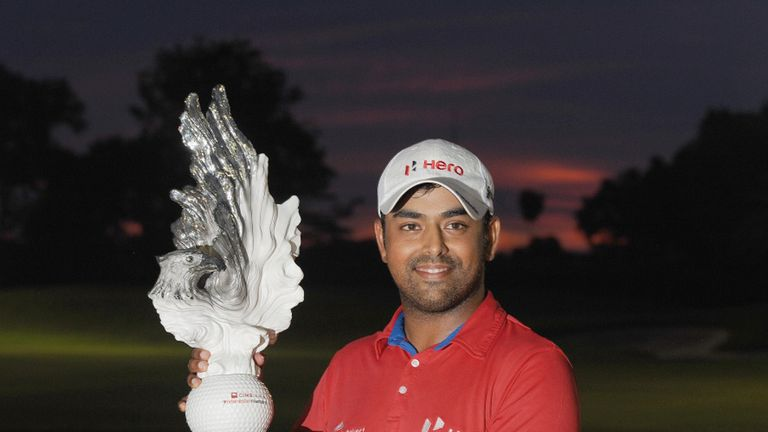 Anirban Lahiri: Making his way to the Open Championship
