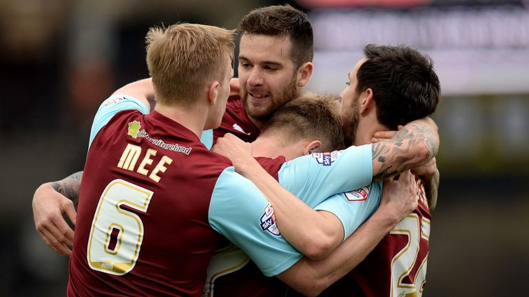 Burnley: Hoping to seal return to Premier League