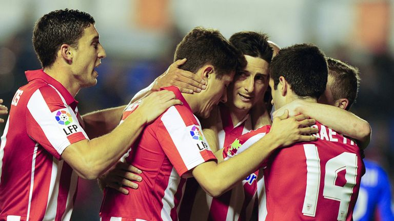 Athletic Bilbao celebrate