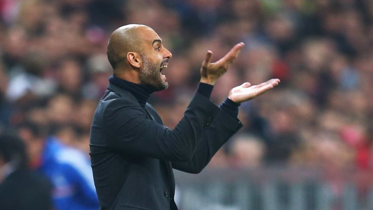 Guardiola: saw his side fail to score against Real Madrid