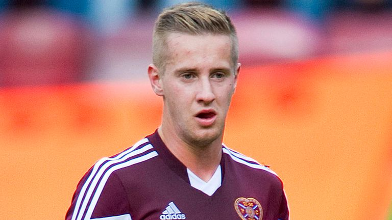 Billy King: Scored twice in 4-1 win over Falkirk
