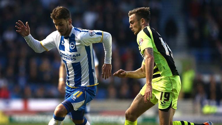 Andrea Orlandi (left): One of six players released by Brighton