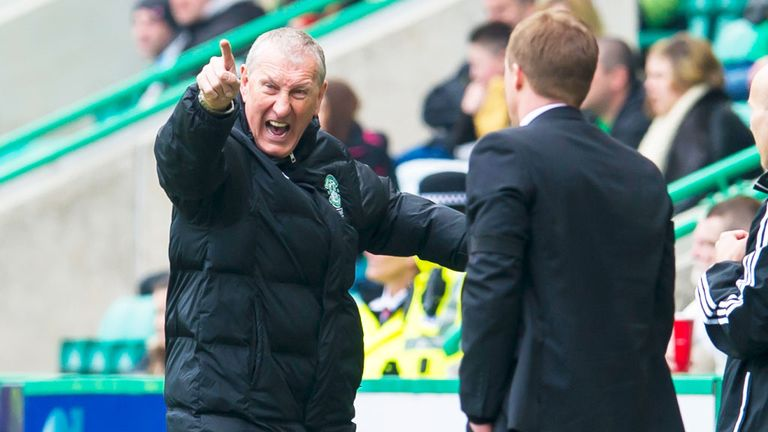 Terry Butcher: Hibernian boss was unhappy at losing soft goals