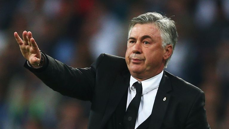 "Carlo Ancelotti says Louis van Gaal has ""nothing to learn"""