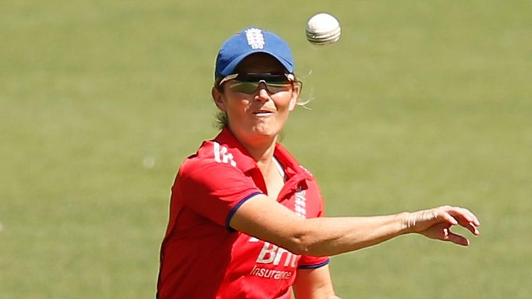 Charlotte Edwards: Ready to face familiar foes on Sunday for the trophy
