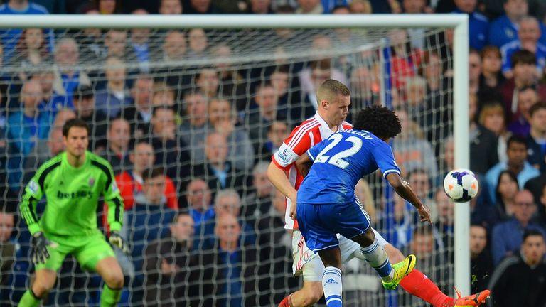 Willian: Scores against Stoke
