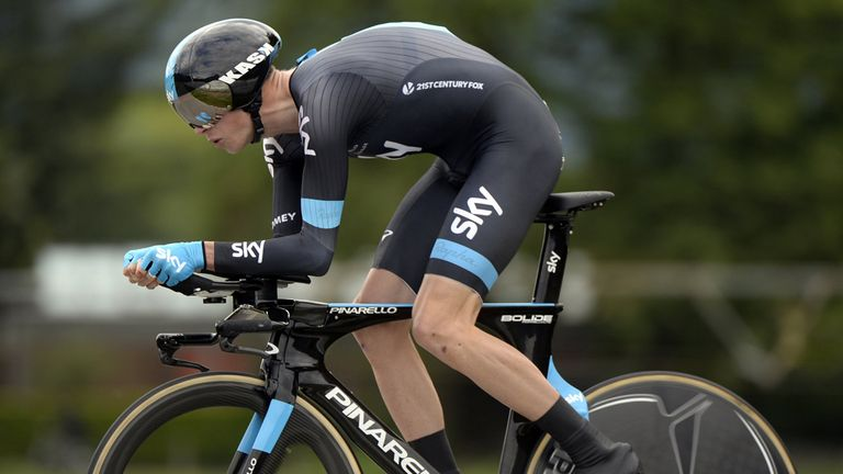 Chris Froome: Couldn't repeat last year's prologue victory