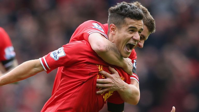 Phillipe Coutinho scored the winner against Man City in 2014