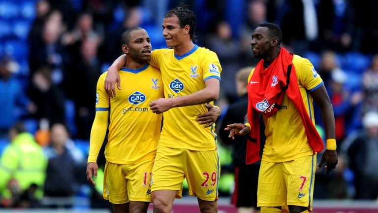Crystal Palace: Romped to a vital 3-0 win at Cardiff last week