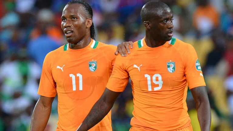 Didier Drogba and Toure have been long-term members of Ivory Coast's 'golden generation'