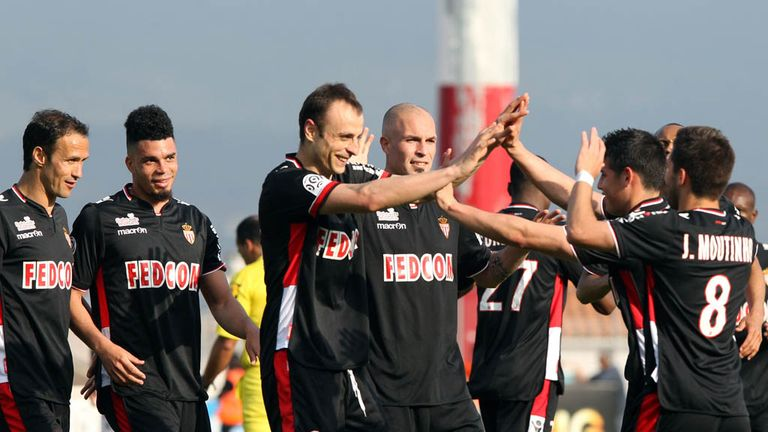 Dimitar Berbatov: Scored a brace for Monaco