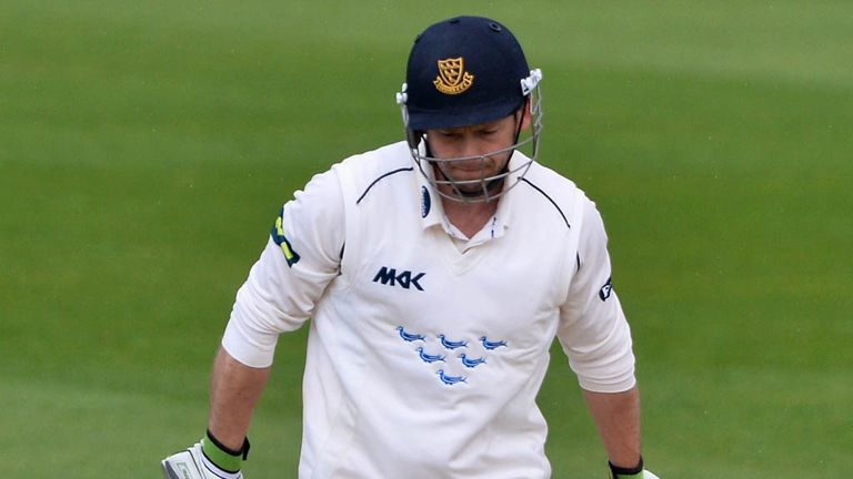 Ed Joyce: Hit winning runs to finish 151 not out at Edgbaston