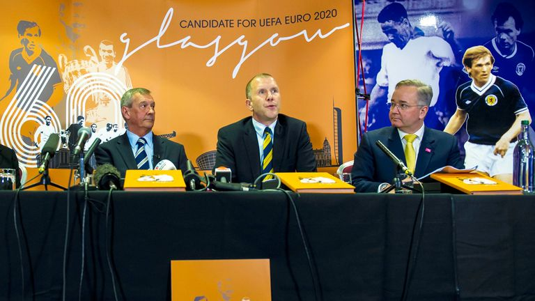 Scottish FA: Preparing to submit Euro 2020 bid