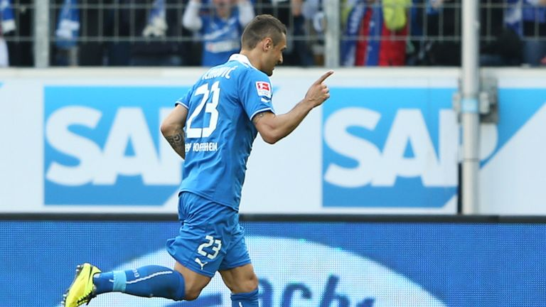 Sejad Salihovic celebrates his goal