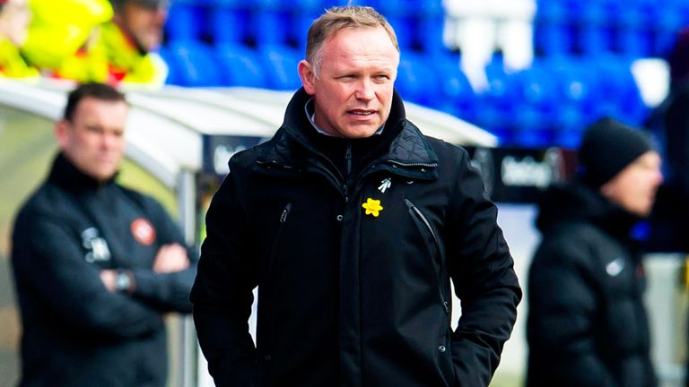 John Hughes: Inverness boss weighing up move for John-Christophe Ayina