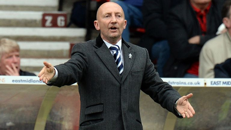 Ian Holloway: Furious with penalty decision