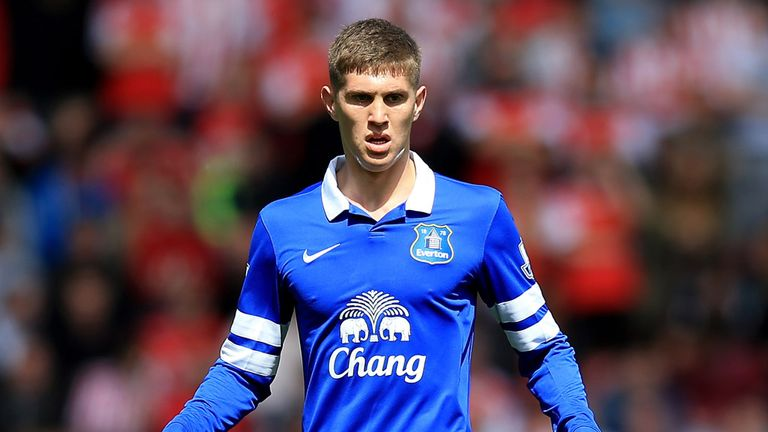 John Stones has been in impressive form for Everton