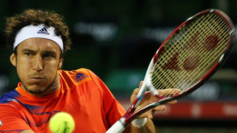 Juan Monaco: Will face Thomaz Bellucci for a place in Gstaad semi-finals