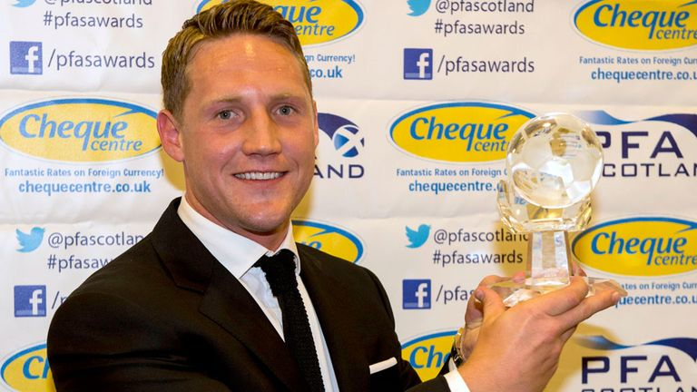 Kris Commons: 'Gobsmacked' to win players' award