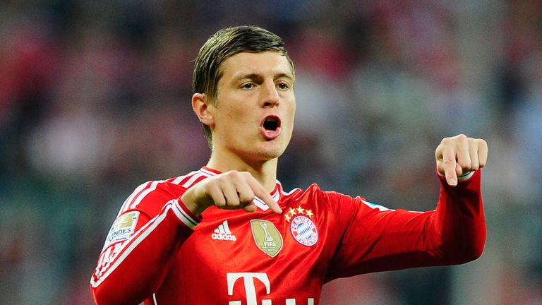 Toni Kroos: Bayern Munich midfielder has been linked with Manchester United