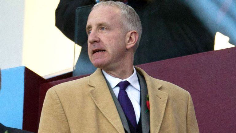 Randy Lerner: Aston Villa chairman has hailed Paul Lambert