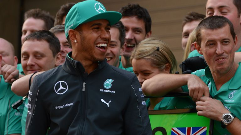 Lewis Hamilton: Aiming to become the 13th driver to win four in a row