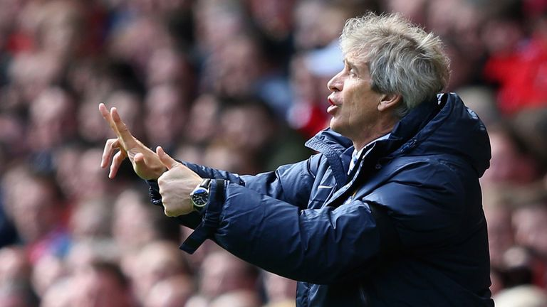 Manuel Pellegrini: No regrets about City's fixture list this season