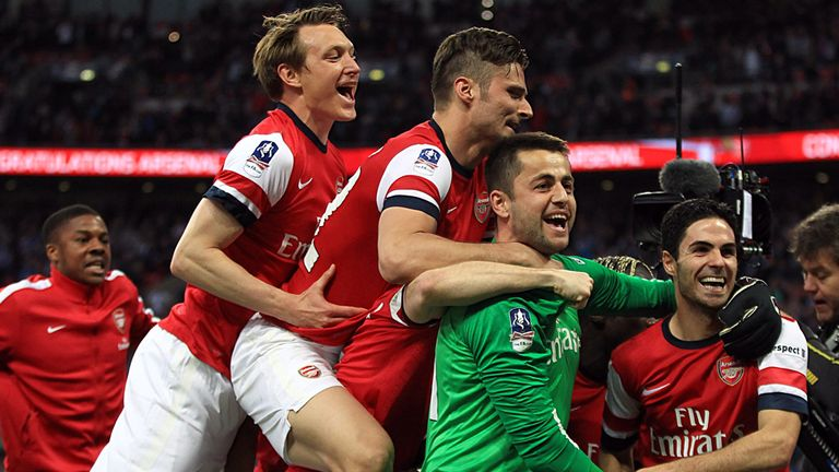 Lukasz Fabianski: Saved two penalties in Arsenal's shootout success