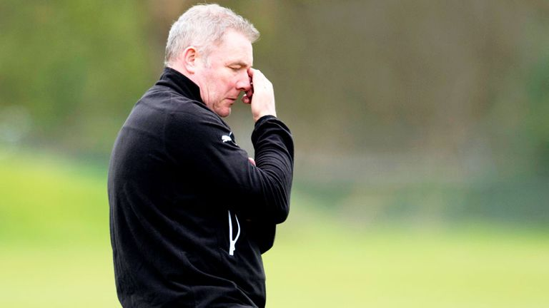 Ally McCoist: Rangers boss has some injury worries