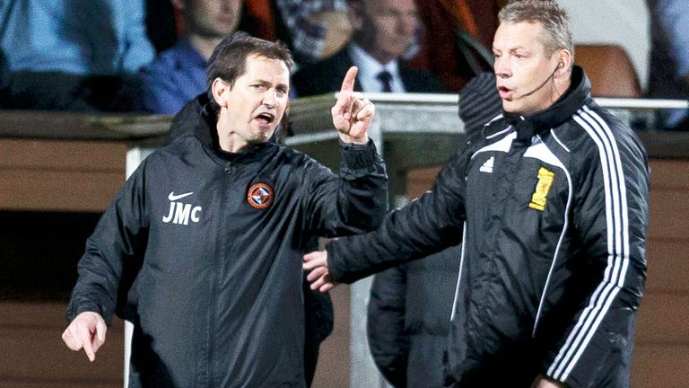 Jackie McNamara: Dundee United boss has been handed a three-match ban