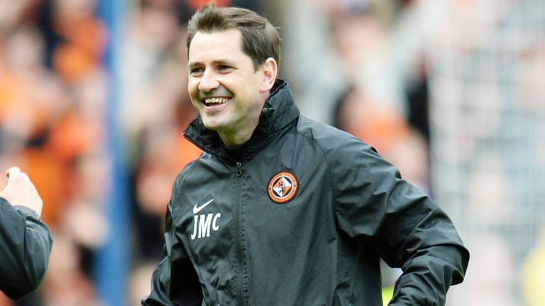 Jackie McNamara: Dundee United have withdrawn their appeal on the manager's ban