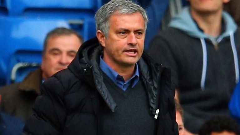 Jose Mourinho: Faces a selection dilemma at Anfield on Sunday