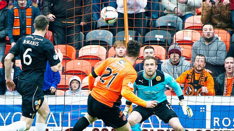 Nadir Ciftci: Opens the scoring in Dundee United's win over Motherwell