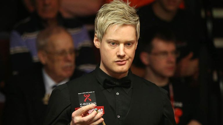 Neil Robertson: Edged out