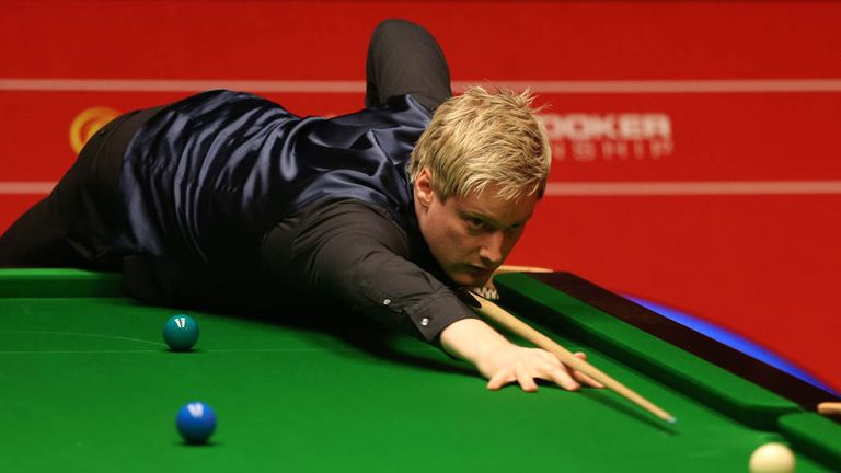 Neil Robertson: Australian left-hander continued good form