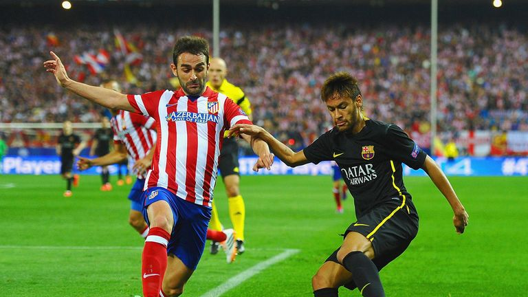barcelona vs atletico madrid now