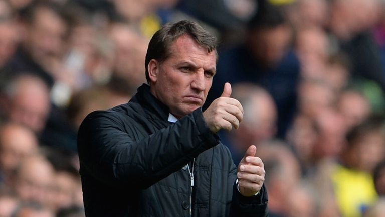 Brendan Rodgers: Keen to bring in another striker