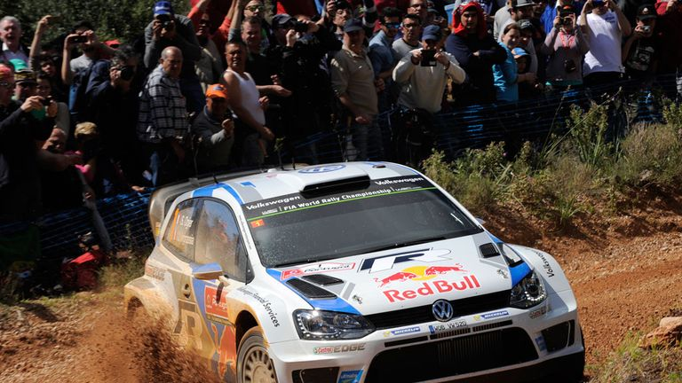 Sebastien Ogier opens up lead on second day in Portugal