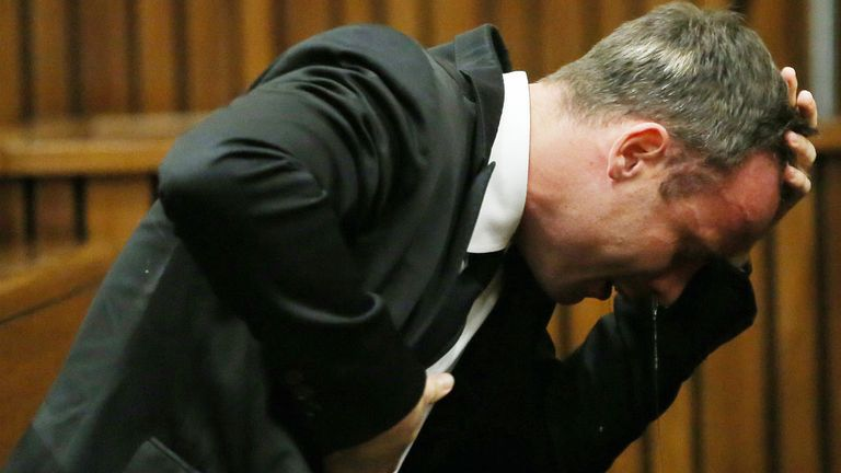 Oscar Pistorius: Was questioned by prosecutor Gerrie Nel on Wednesday