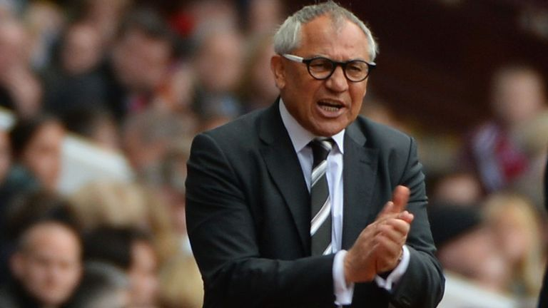 Felix Magath: Fulham boss ready to field youth team players