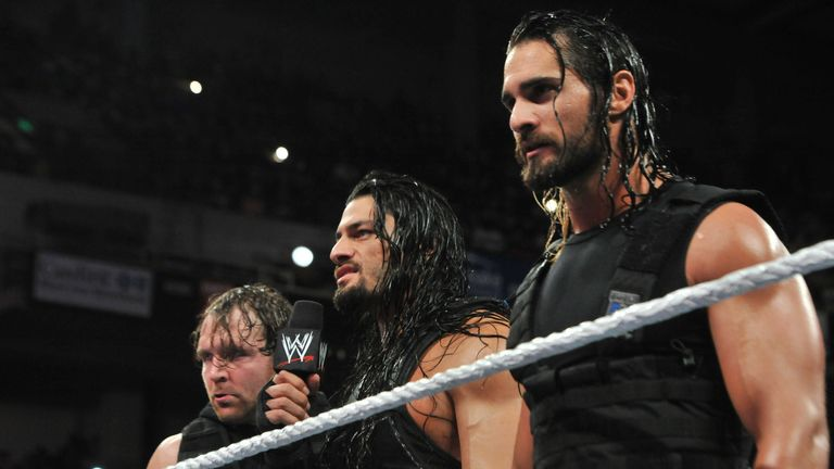 The Shield delivered a message to Evolution on Monday Night Raw
