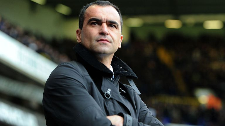 Roberto Martinez: Everton boss takes Spurs links as a compliment