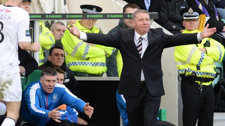 McCoist's side lost the Ramsdens Cup final 1-0 to Raith