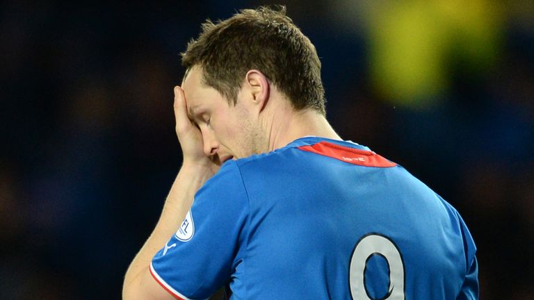 Jon Daly: Rangers striker has had knee surgery