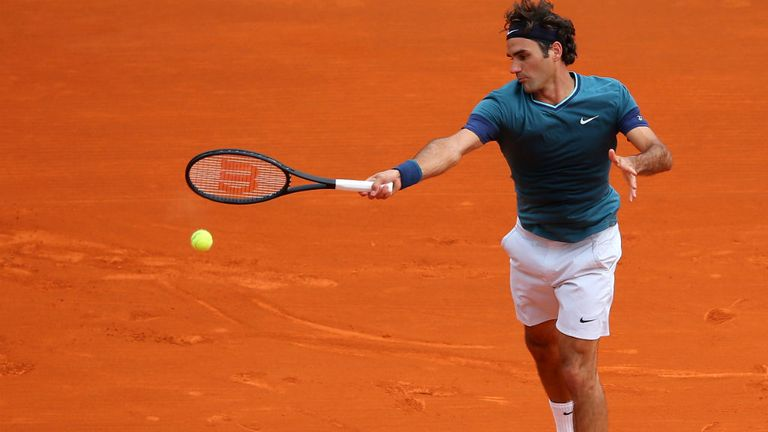 Roger Federer: Attempting to win the Monte Carlo Masters for the first time