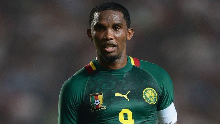 Samuel Eto'o: Cameroon's goalscoring legend is a good friend of Toure