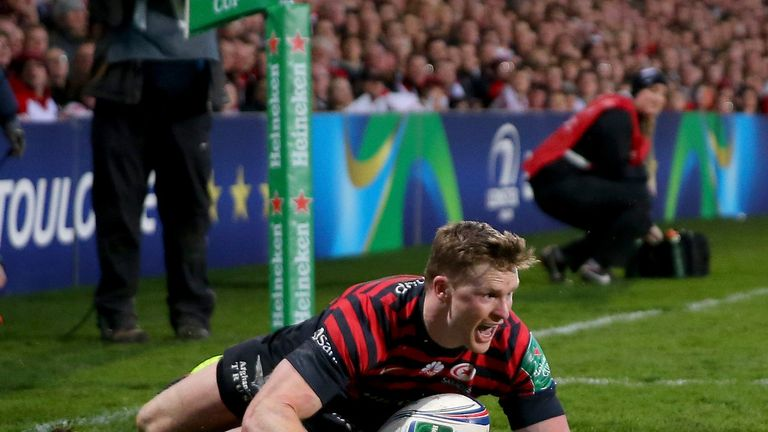 Chris Ashton: Equalled the record number of tries in a Heineken Cup campaign