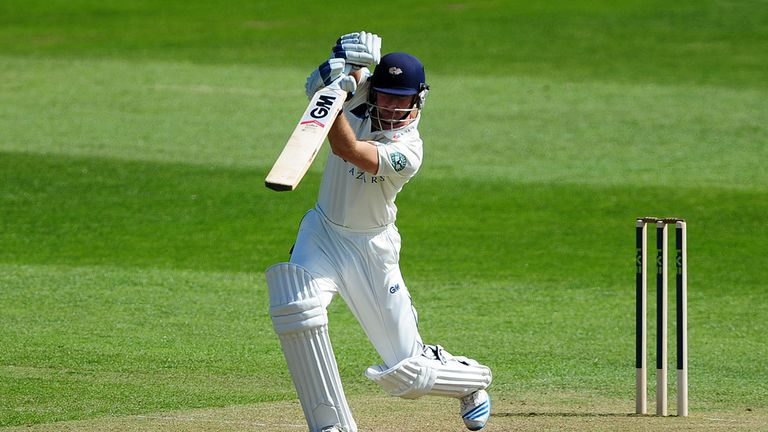 Adam Lyth: Scored 143 on day of Yorkshire's clash with Durham